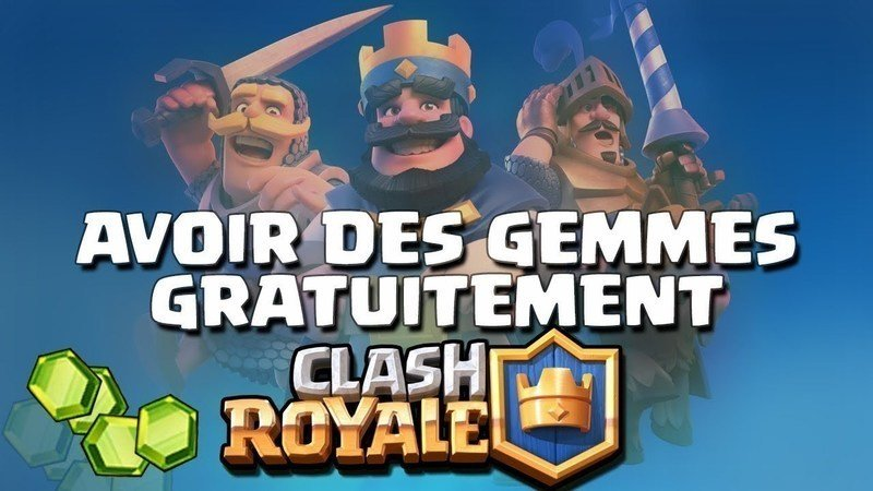 Générer des gemmes Clash Royale gratuitement